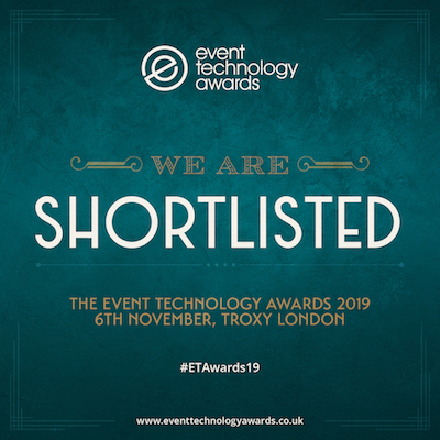 shortlisted event technology award