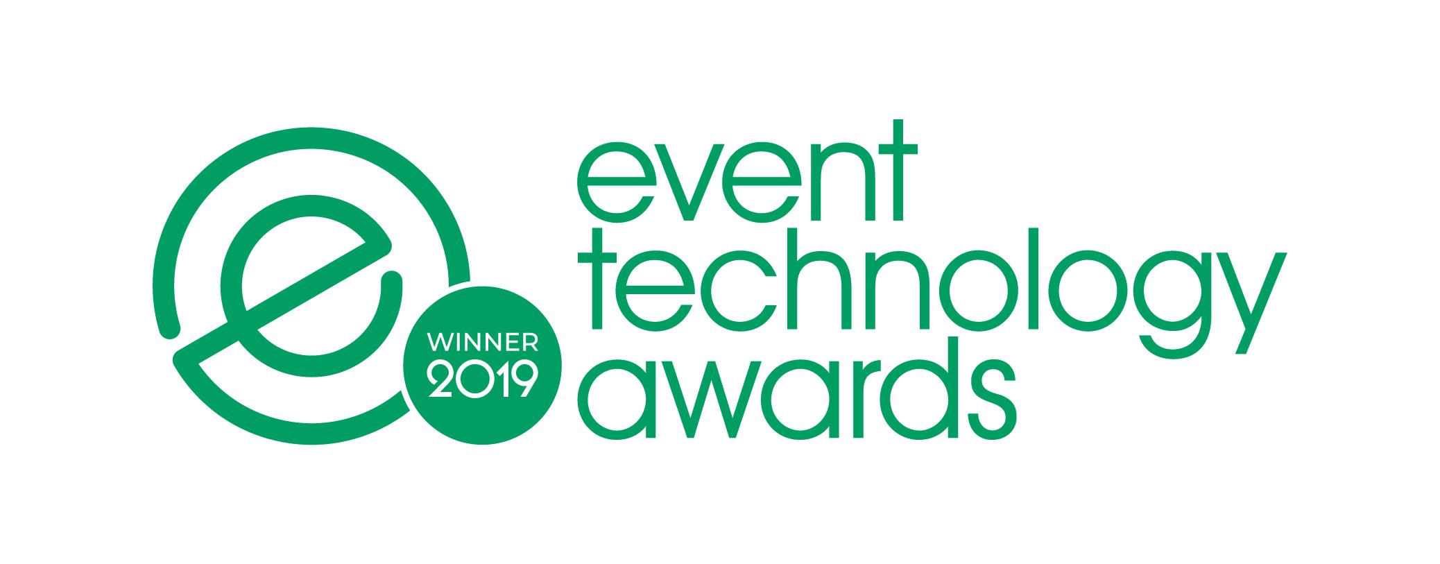 event technology award winner logo